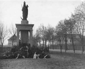 Kriegerdenkmal in Truderin z.Z. der Erstellung